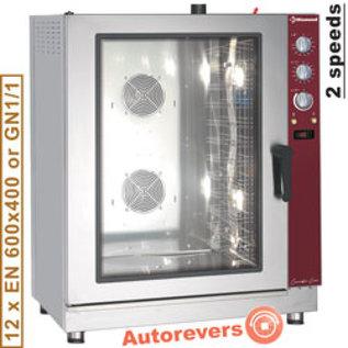 Diamond Elektrische conventie oven 12x EN (GN) met automatische bevochtiger PFE-122/P