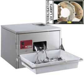 Diamond Poliermachine voor bestek, tafel model, 3000-3500 st./u
