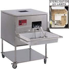 Diamond Poliermachine voor bestek, 7000-8000 st./u