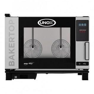 unox Unox BakerTop MindMaps ONE combisteamer - 4x 600x400