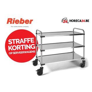 Rieber Serveerwagen 1060 RL 2 of  3 bladen M