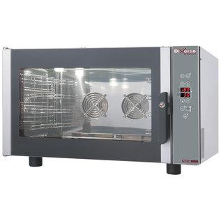 Diamond Elektrische stoom/convectieoven, programmeerbaar 4x GN 1/1 of 600x400 mm