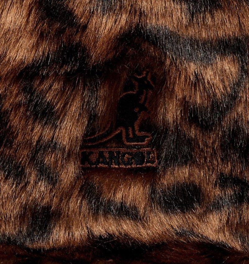 Kangol FAUX FUR CASUAL LEOPARD