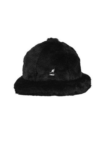 Kangol FAUX FUR CASUAL BLACK