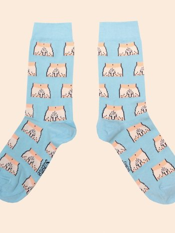 Coucou Suzette WILLY SOCKS WHITE