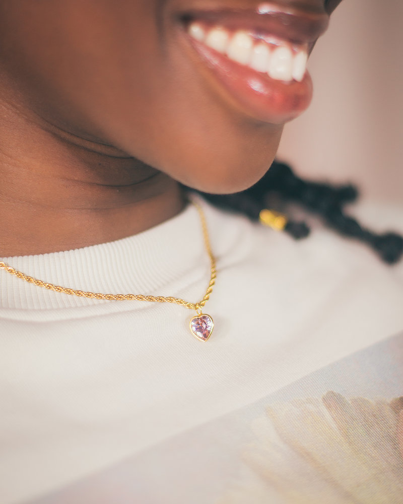 T.I.T.S. ROPE NECKLACE GOLD