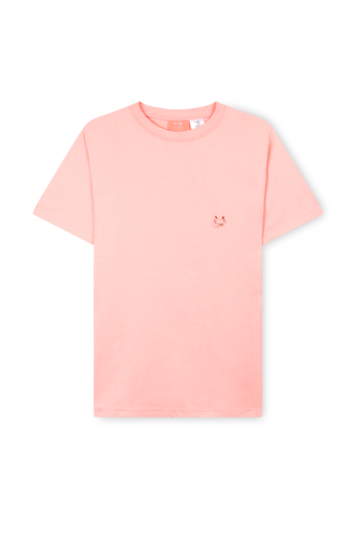 T.I.T.S. PIERCING T-SHIRT PINK