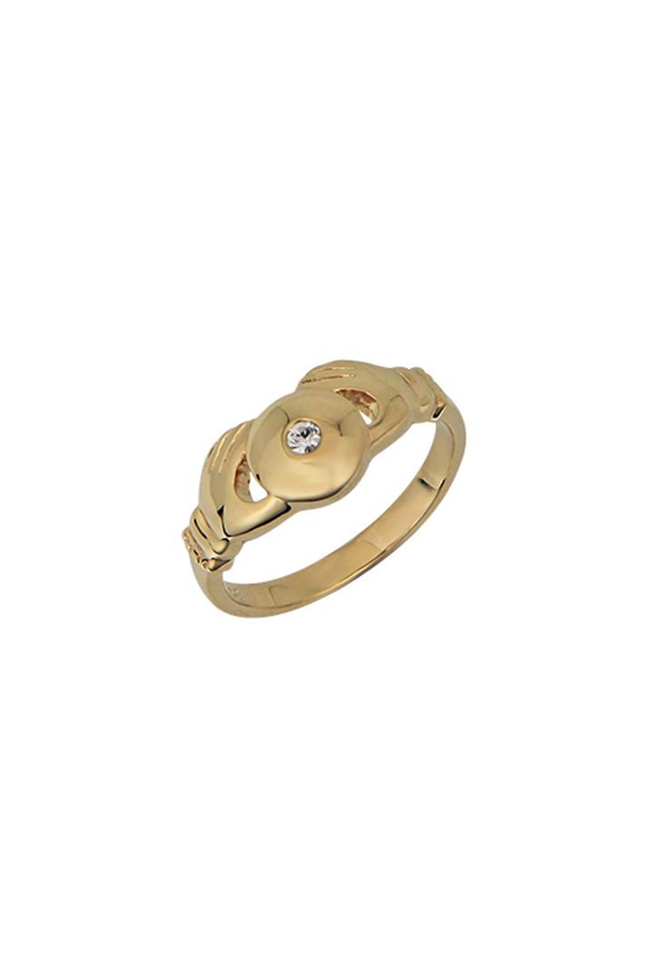 T.I.T.S. TITTY TWIST PINK RING GOLD