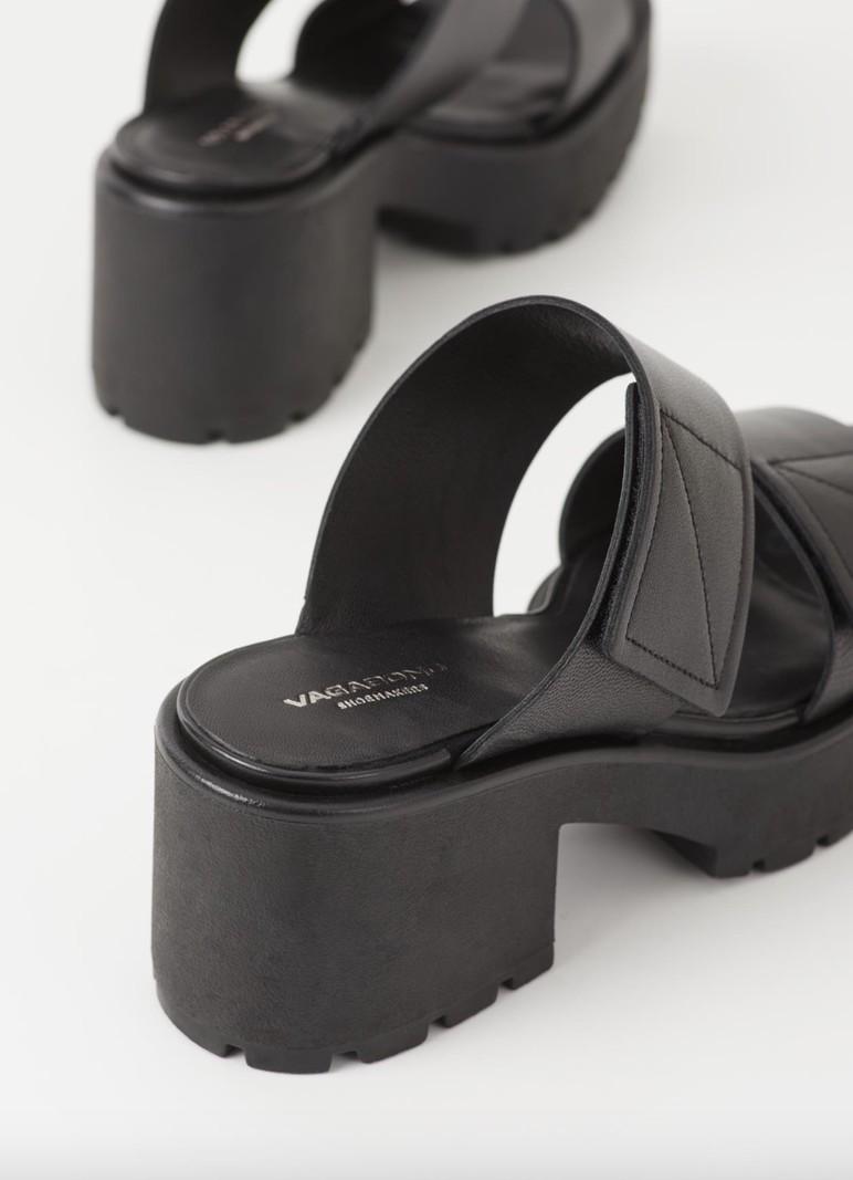Vagabond DIOON SLIPPERS BLACK