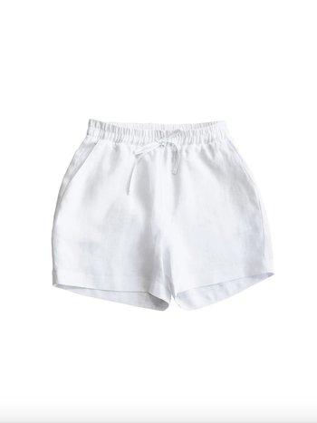 Capsule MARSHMALLOW WHITE SHORTS
