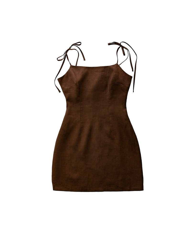 Capsule CHOCOLATE MOCHA DRESS