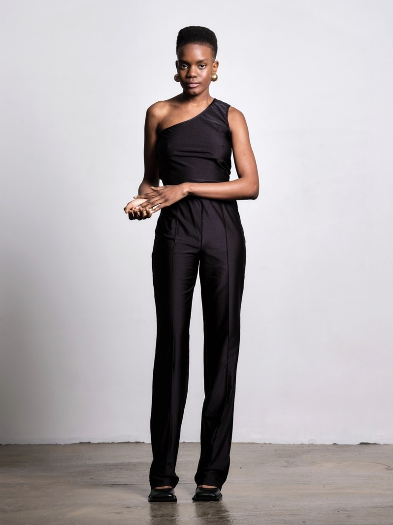 The Five THE EVERYDAY TROUSERS BLACK
