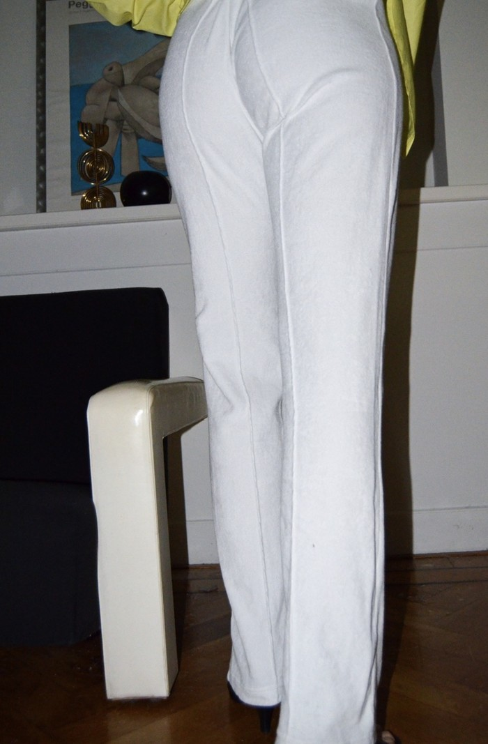 The Five THE EVERYDAY TROUSERS WHITE TERRY