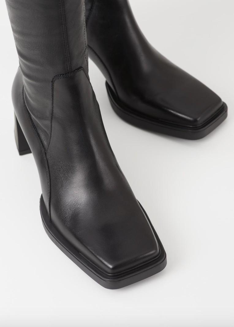Vagabond EDWINA KNEE BOOTS BLACK