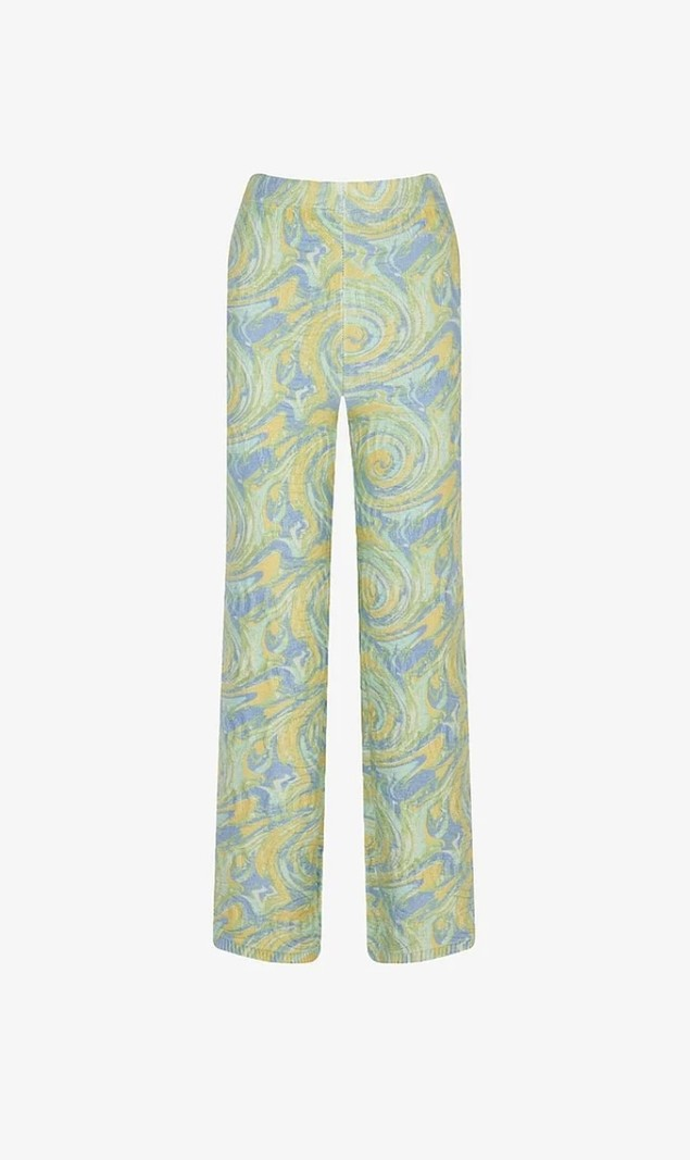 House of Sunny CYPRESS PANTS CUCUMBER