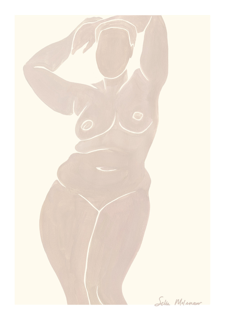 T.I.T.S. T.I.T.S. X SELLA MOLENAAR PRINT A3 POSING (ONLY AVAILABLE IN STORE)