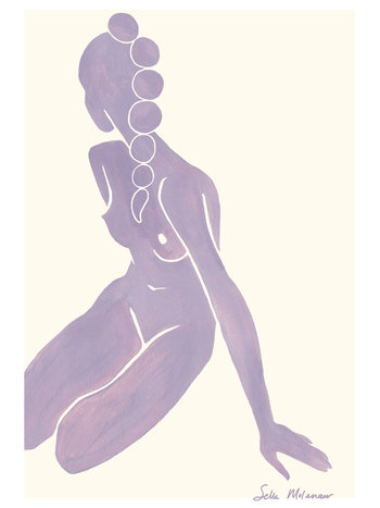 T.I.T.S. T.I.T.S. X SELLA MOLENAAR PRINT A3 SITTING (ONLY AVAILABLE IN STORE)