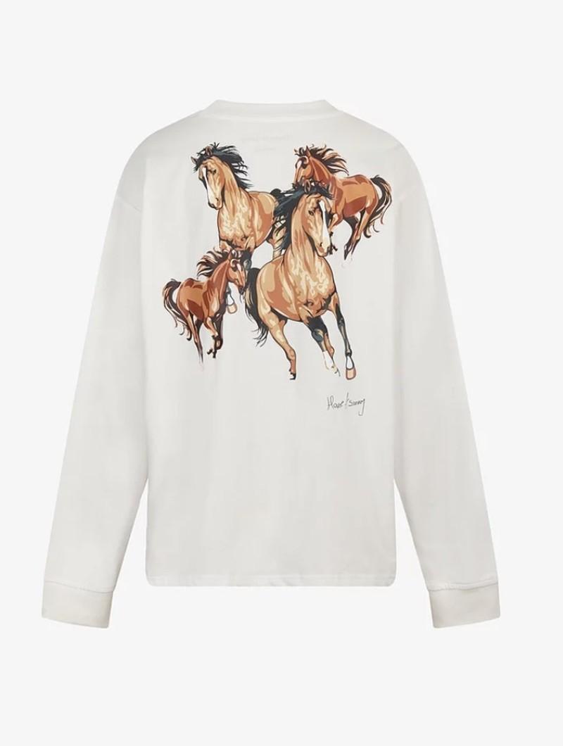 House of Sunny WILD HORSES SKATE TEE