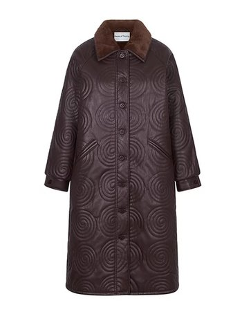 House of Sunny COSMO (FOREVER & EVER) OVERCOAT BROWN