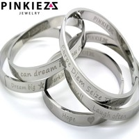 Pinkiezz Pinkiezz quote armband