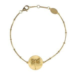flying gold armband