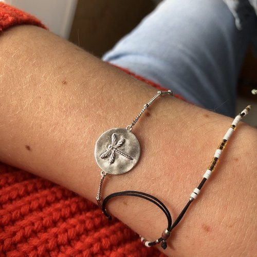 by Lauren Amsterdam flying gold armband
