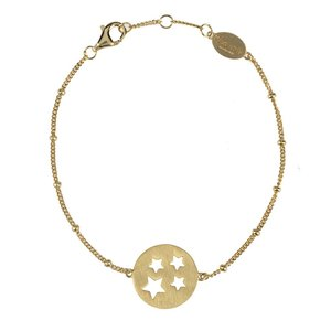 Starry coin armband