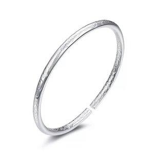 Bewerkte zilveren armband