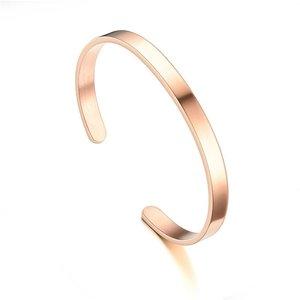 Roestvrijstalen bangles armband in diverse kleuren