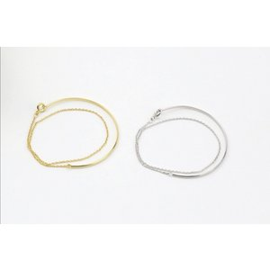 Dubbele minimalisische armband