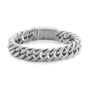 Matt Steel Bracelet