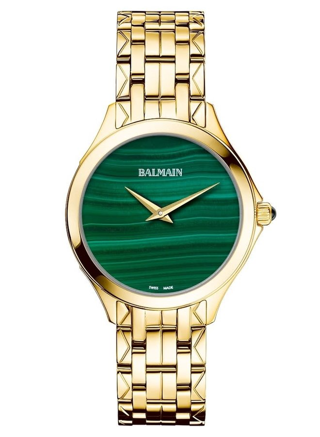 "Balmain B47903375 Flamea II ""Malachite"""