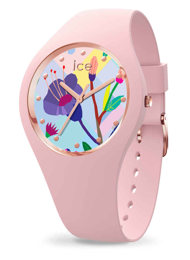 Ice Watch 016654 ICE flower - Pink garden-Small