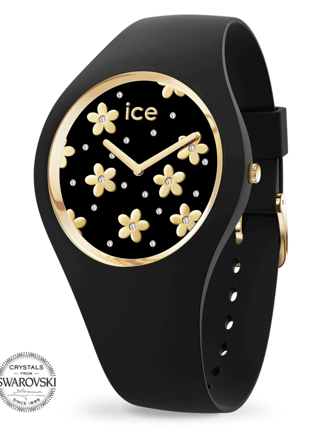 Ice Watch 016668 ICE flower - Precious black-Medium