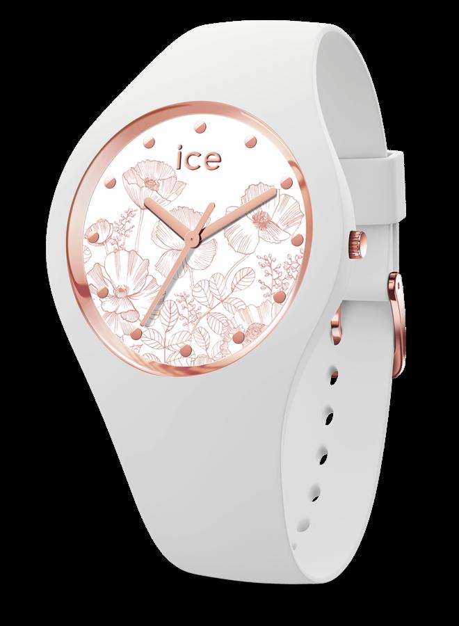 Ice Watch 016669 ICE flower - Spring white-Medium