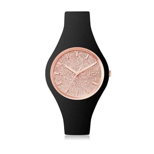 Ice Watch Ice Watch 001346 ICE GLITTER - BLACK ROSE GOLD - SMALL