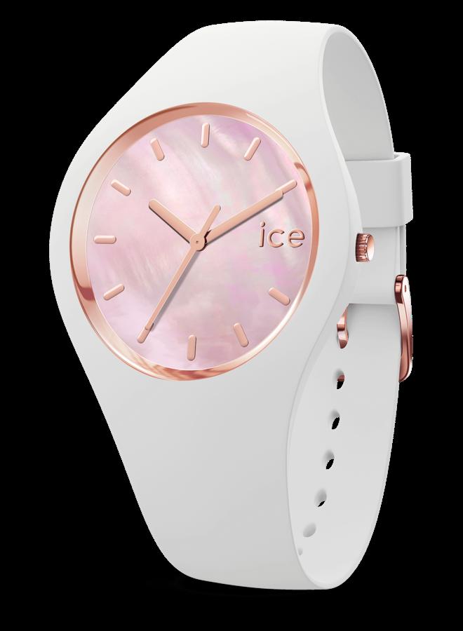 Ice Watch 017126 ICE PEARL - WHITE PINK - MEDIUM