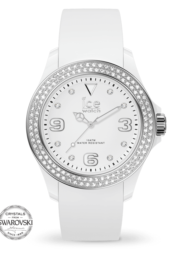 Ice Watch 017230 Star White Silver Smooth Small