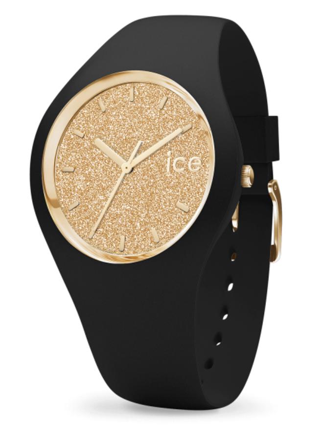 Ice Watch 001355 Ice Glitter black Gold M