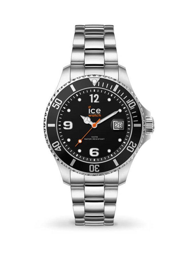 Ice Watch 017323 Ice Steel Black Silver S