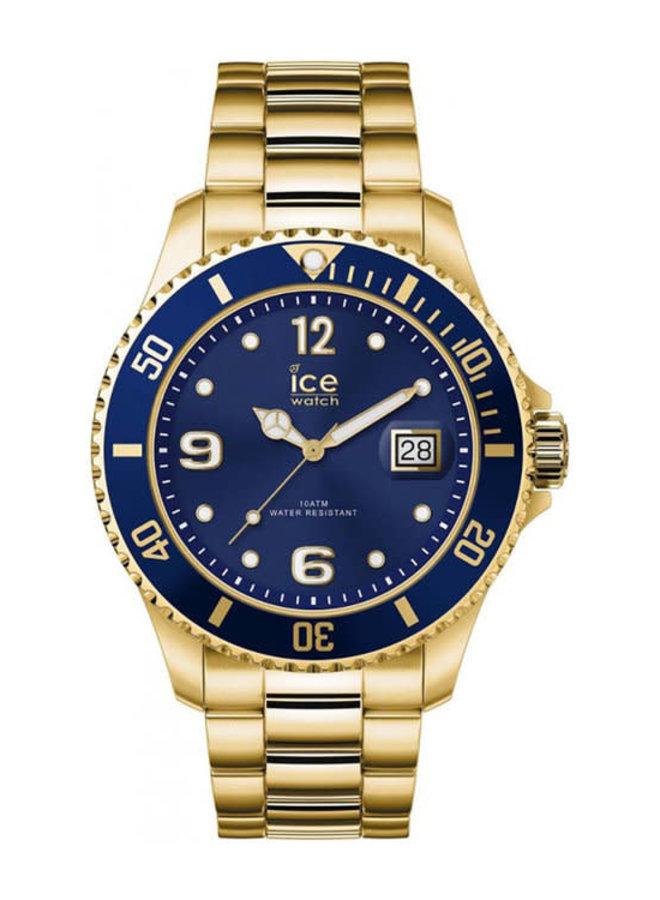 Ice Watch 017326 Ice Steel Gold Blue XL