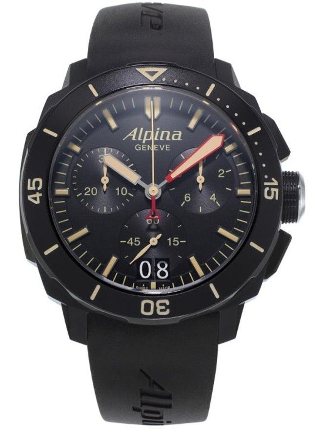 Alpina AL-372LBBG4FBV6 Seastrong  Diver 300 Big Date