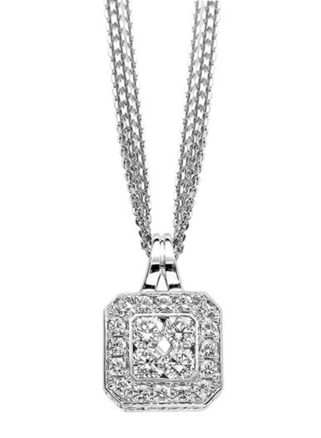 The Flanders Collection 152H  0.52Ct +0.55Ct DEF Si2