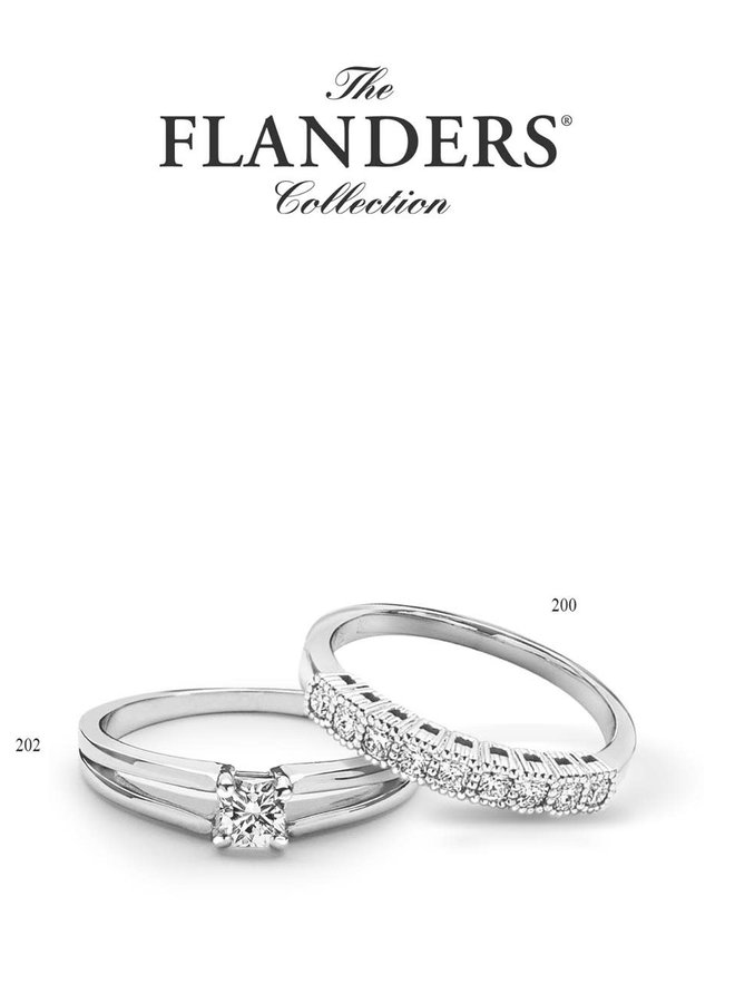 The Flanders Collection 200 0.24Ct DEF Si2