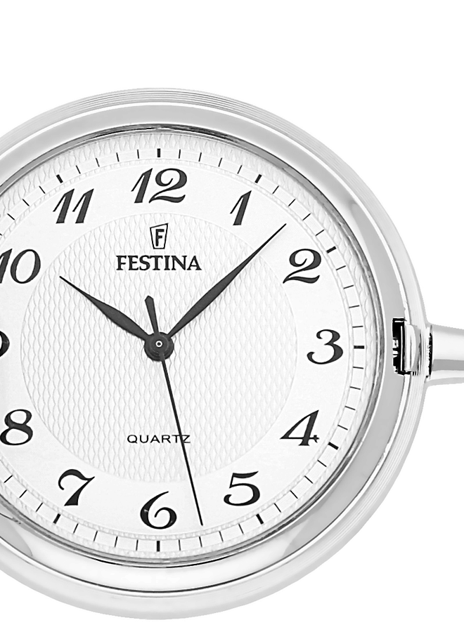 Festina F4075/2 Zilveren zakhorloge