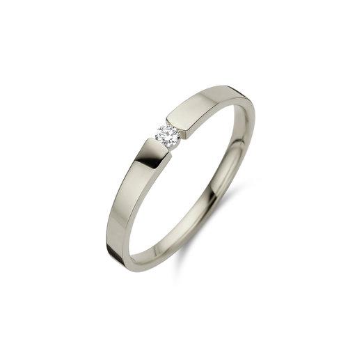 Beheyt Ring goud 18kt 91B028/A 0.09Ct