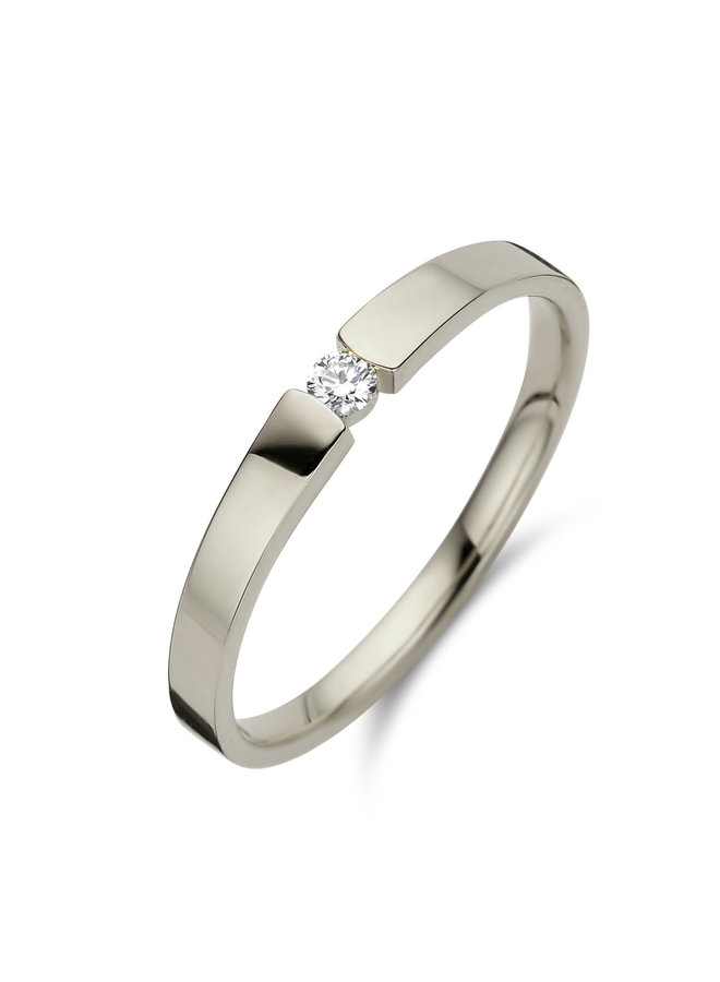 Ring goud 18kt 91B028/A 0.09Ct