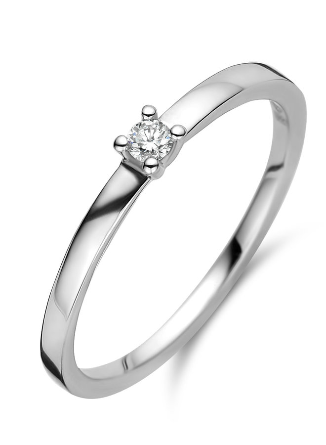 Ring goud 18kt 91EE24/A 0.05Ct