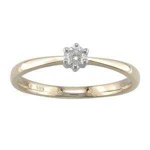athos Ring goud 18kt JA680 0.11Ct