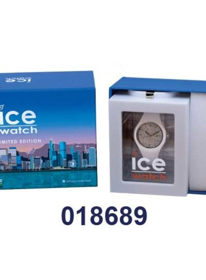 Ice Watch 018689 Gift Box Ice Glitter White Silver S